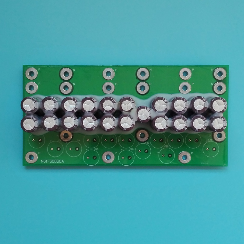 TCM Forklift Capacitor Board N61F30830A